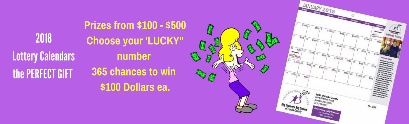 Lottery Calndars (3)